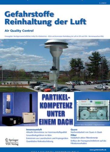 Gefahrstoffe - Reinhaltung der Luft [Jahresabo]