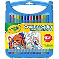 Crayola 04-0377-E-000 Super Tips Create and Colour Case Stationery