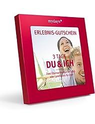 Hotelgutschein - mydays Magic Box: 3 Tage Du & Ich - 2 Übernachtungen für 2 Personen - Geschenkidee für Paare