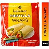 Habanero Tortilla Wraps for Burrito, Tacos and Rolls