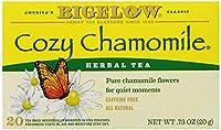 20 Count : Bigelow Cozy Chamomile Herbal Tea 20 Count