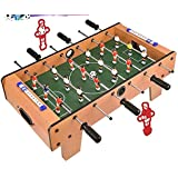 Home Cloud Mid Size Lightweight Table Top Version Foosball / Football Game, Mini Football, Table Soccer (69X37X24cm) for…