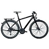 Univega Damen Geo 4.0 Fahrrad, Schwarz (magicblack matt), 50