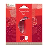 Avenue Mandarine Origami Colour, 12 x 12 cm, 70 gsm, Red