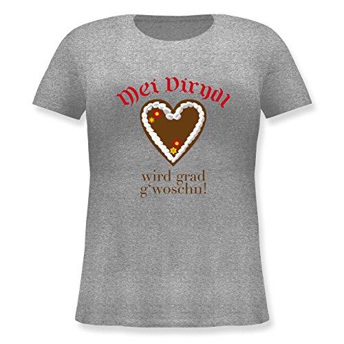 oktoberfest-damen-dirndl-wird-gwoschn-shirt-statt-dirndl-m-46-grau-meliert-jhk601-lockeres-damen-shi