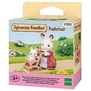 Sylvanian Families - 2930 - Poussette - Poupées et Accessoires - Sylvanian