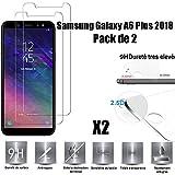 Samsung Galaxy A6 Plus 2018 Vitre Protection d'ecran en Verre trempé [Scott-FR]...