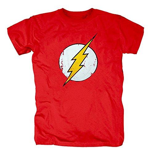 Logo T-Shirt Herren M Rot ()