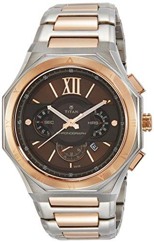 Titan 1716KM01  Chronograph Watch For Unisex