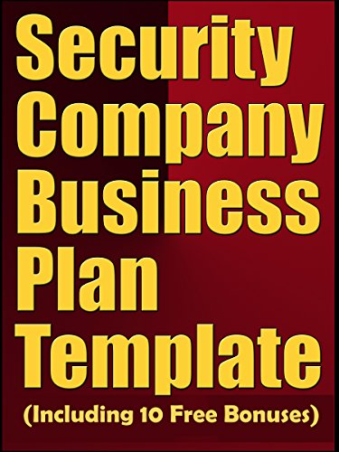 business plan for bodyguard company