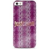 Just Cavalli JCCI013 - Carcasa para Apple iPhone 5/5S, diseño Phyton Crystal, rosa