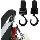 Rheme Two Hook and Stroll Buggy Bag Hook Pram Hook 2 Pack