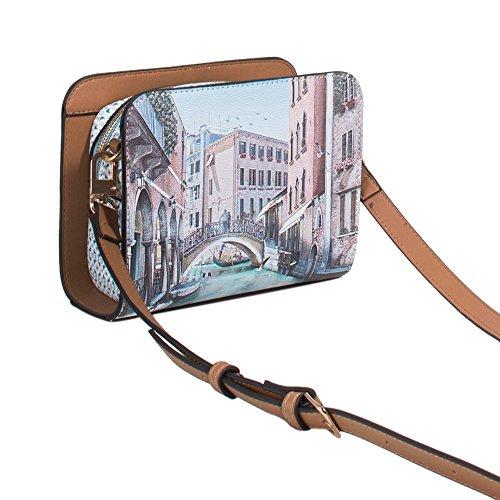 Parfois - Clutch - Borsa Tracolla Venezia - Donne Blu