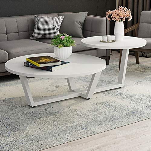 WSNDDL Couchtisch Einfache Wohnzimmer Runde Kreative Moderne Kleine Runde  Tisch Kleine Wohnung Kombination Mini Tisch (Color : 9)