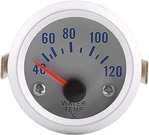 Wassertemperaturanzeiger 52mm 2 Universal Auto Motor Digital Blaue Led Wassertemperatur Temperaturanzeige 40 120 Bereich Auto