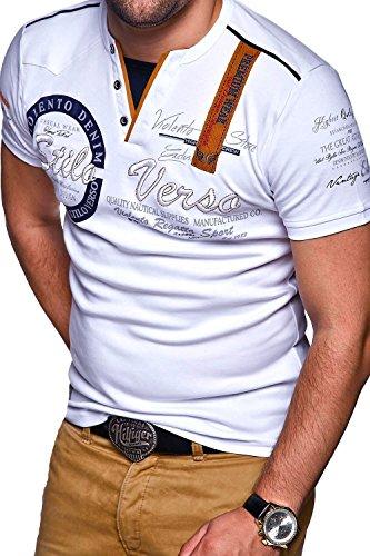 MT Styles 2in1 T-Shirt CIRCLE R-2875 Weiß