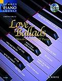 Love Ballads - Piano - Buch + CD