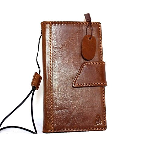 Leder Fall Passgenau iPhone 6Buch 11,9cm Brieftasche Handgefertigt S Luxus handtec ()