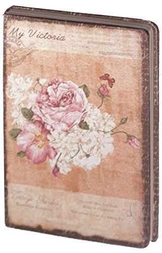 d8024-kalevan-pallo-dreamnotes-notebook-14-x-21-cm-my-victoria-white-pink-rose