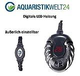 75 Watt Digitale Aquarium Heizung Heizer Regelheizer Süßwasser Meerwasser Aquaheat Aquarien Regelbar Wasser