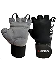 Kobo WTG-09 Gym Gloves with Wrist Support