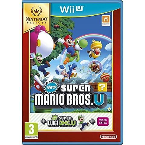 New Super Mario Bros. U + New Super Luigi U - Nintendo Selects - Nintendo (Disco Piattaforma)