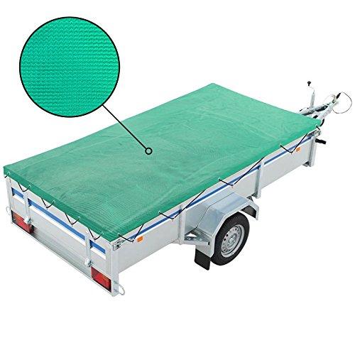 APT Anhängernet feinmaschig Sicherheitsnetz mit Gummizug 2,00 x 3,00 Meter zur Sicherung der Ladung oder Gepäck