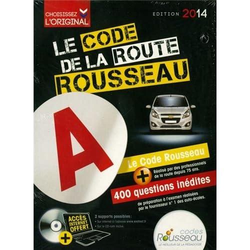 Code Rousseau de la route B 2014