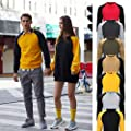 SoonerQuicker Sweatshirts Kapuzenpullover Streetwear for Herbst-und Winter-Modetrend Lesiure Stitching Couple Sweater