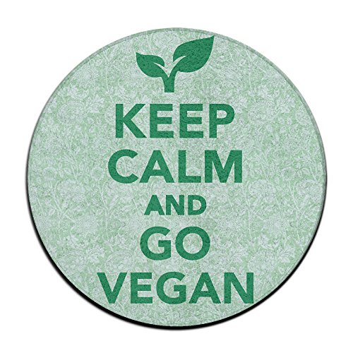 Babies Keep Calm and Go Vegan Antideslizante Alfombrillas