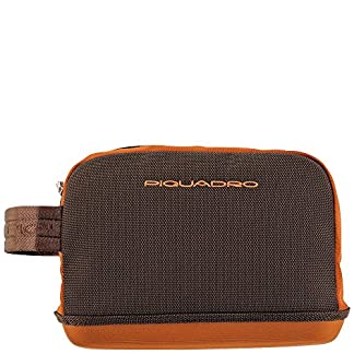 Piquadro Nimble Beauty Case 24 Centimetri, orange