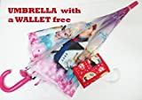 Art box Special Material GIRLISH print UMBRELLA For Girls kid