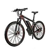 Wheel-hy Vélo Électrique Hommes E-vélo Fat Snow Bike 350W-36V-10.4Ah Li-Batterie 26' Vélo Shimano 21 Vitesses Freins à Disque Intelligent vélo électrique