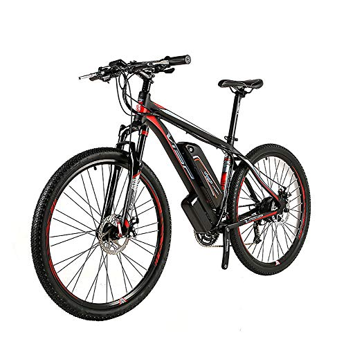 Wheel-hy E-Bike Mountain Bike, 350W, 36V 10.4Ah Batteria, Bici elettrica da 26 Pollici, Cambio Shimano 21 Marce, Freni Idrau