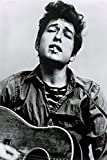Große Bob Dylan Guitar B/W Close Up Maxi Papier Poster Maßnahmen 91,5x 61cm