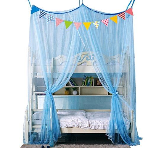 CHANG XU DONG SHOP Etagenbett Moskitonetz verschlüsseln große Raum Bett Baldachin Anti Insekt beißt Sommer Bettwäsche voller Größe (Farbe : A, größe : 1.35m) (Bett Bettwäsche Baldachin Voll)