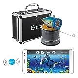 uphig Eyoyo inalámbrico 2,4 G Wifi rastreador de peces pesca detectar Fishfinder Fishhunter 30 m/98pies para iOS Android