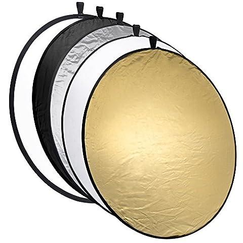 Reflecteur Pliable - Réflecteur mantona pliable 5 en 1, 110