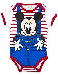 Baby Body Disney für Jungen Mädchen Mickey Mouse Cars Snoopy blau rot
