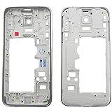 Mittel Rahmen Premium Mittelrahmen für Samsung Galaxy S5 Mini G800F Silber Gehäuse Mittelgehäuse [ohne Teile] - ToKa-Versand®