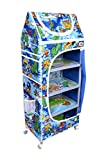 Ehomekart Blue 5 Shelves Almirah for Kid...