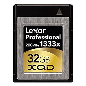 Lexar Professional 32GB 1333x Speed (200MB/s) XQD Flash Memory Card