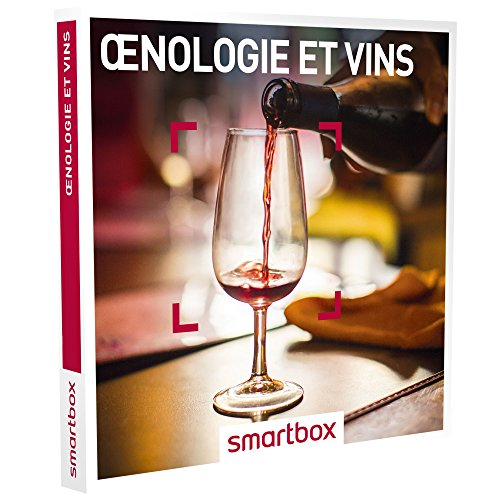 SMARTBOX - Coffret Cadeau homme femme couple - Œnologie et vins - idée cadeau - 393...