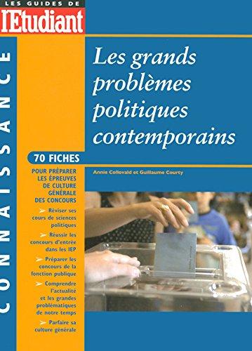 LES GRANDS PROBLEMES POLITIQUES CONTEMPORAINS