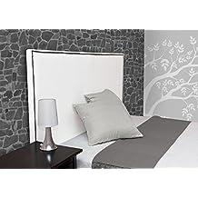 Suenoszzz - Cabecero *Amberes (Cama90) 100X57 Cms. Color Blanco -
