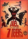 Telecharger Livres Calendrier mural 2018 12 pages 20x30cm Action Kung Fu Karate Vintage Trash film affiches Reprint Calendar (PDF,EPUB,MOBI) gratuits en Francaise
