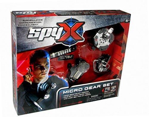 Spy X10151Zubehör für Kostüm,Gürtel mit Spion-Ausrüstund