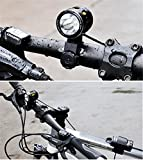 Black Bike lights, fiets aan, 6 heldere modi, Ultra helderheid, multifunctioneel en waterdichte LED Koplamp/Outdoor tenten lampen