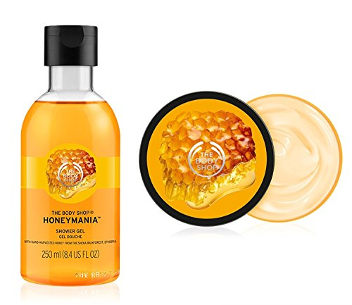 The Body Shop Honeymania Shower Gel 250ml + The Body Shop Honeymania Body Butter 200ml FOR MEN & WOMEN