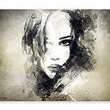 murando Papier peint intissé 350x256 cm Décoration Murale XXL Poster Tableaux Muraux Tapisserie Photo Trompe l'oeil Portrait Visage h-B-0020-a-b...